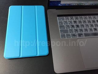 MS factory iPadmini4用ケース水色