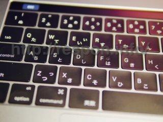 新型MacBookProのキーボード