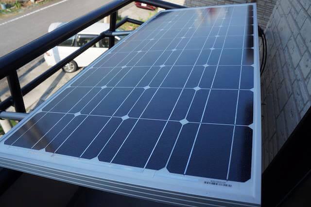 100Wの太陽光パネル