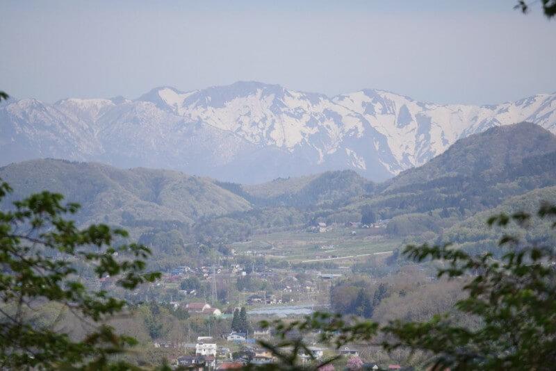 5月の谷川岳