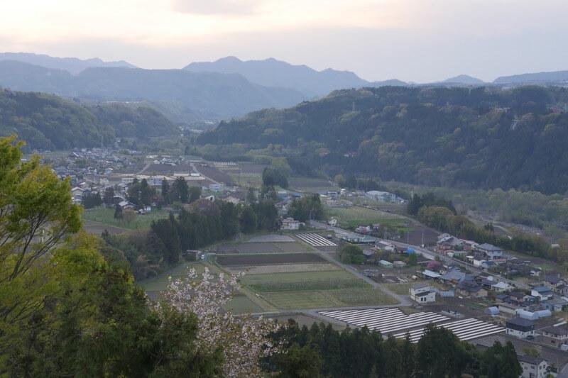 山里の景色