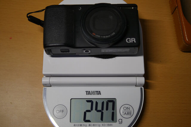 richo-gr-weight